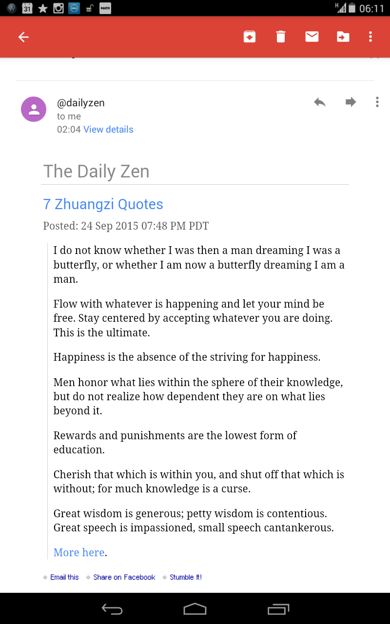 Todays Quotes From The Daily Zen Blog Your Mindset Coach